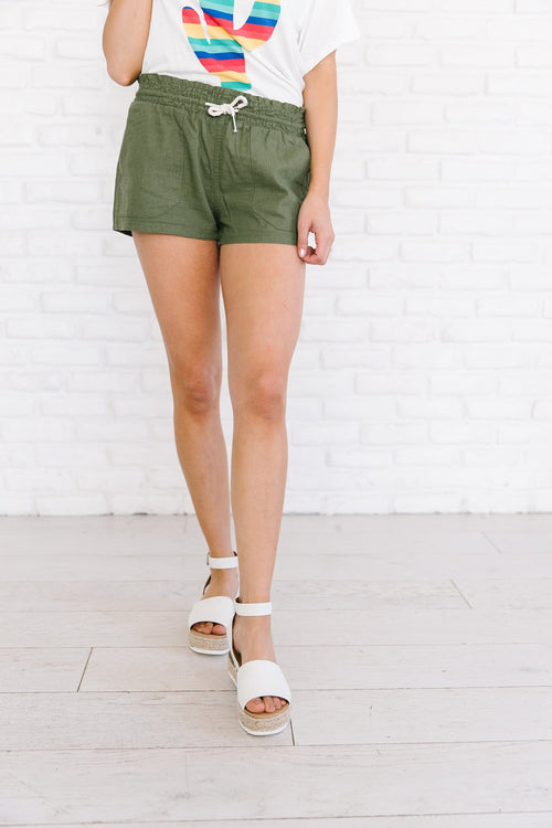 The Kamden Drawstring Shorts in Multiple Colors