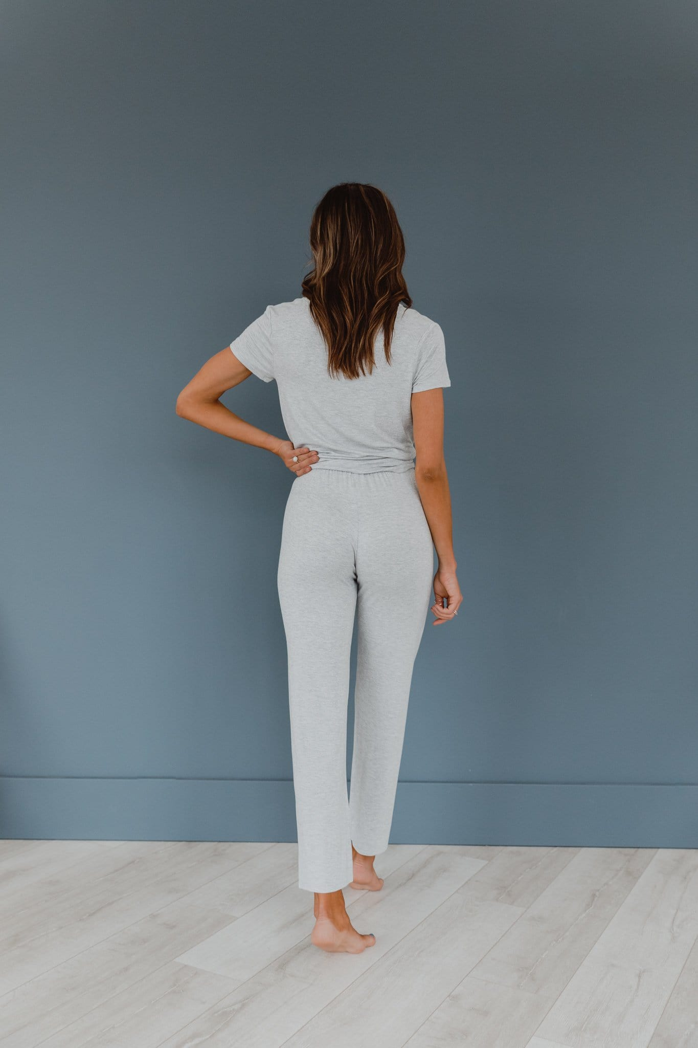 The Mollie Loungewear Set in Grey