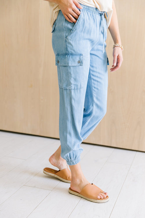 The Monterey Casual Pants in Denim