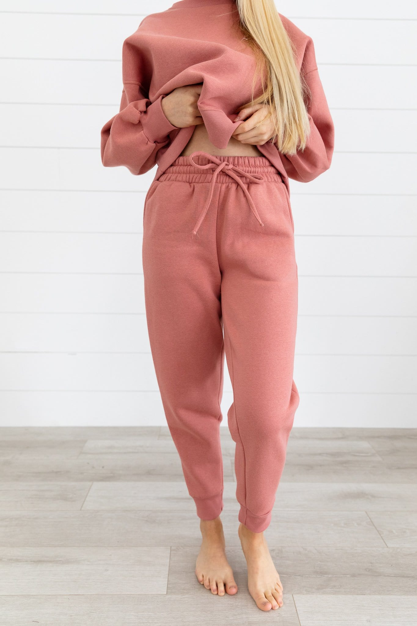 The Paxton Loungewear Set in Rose