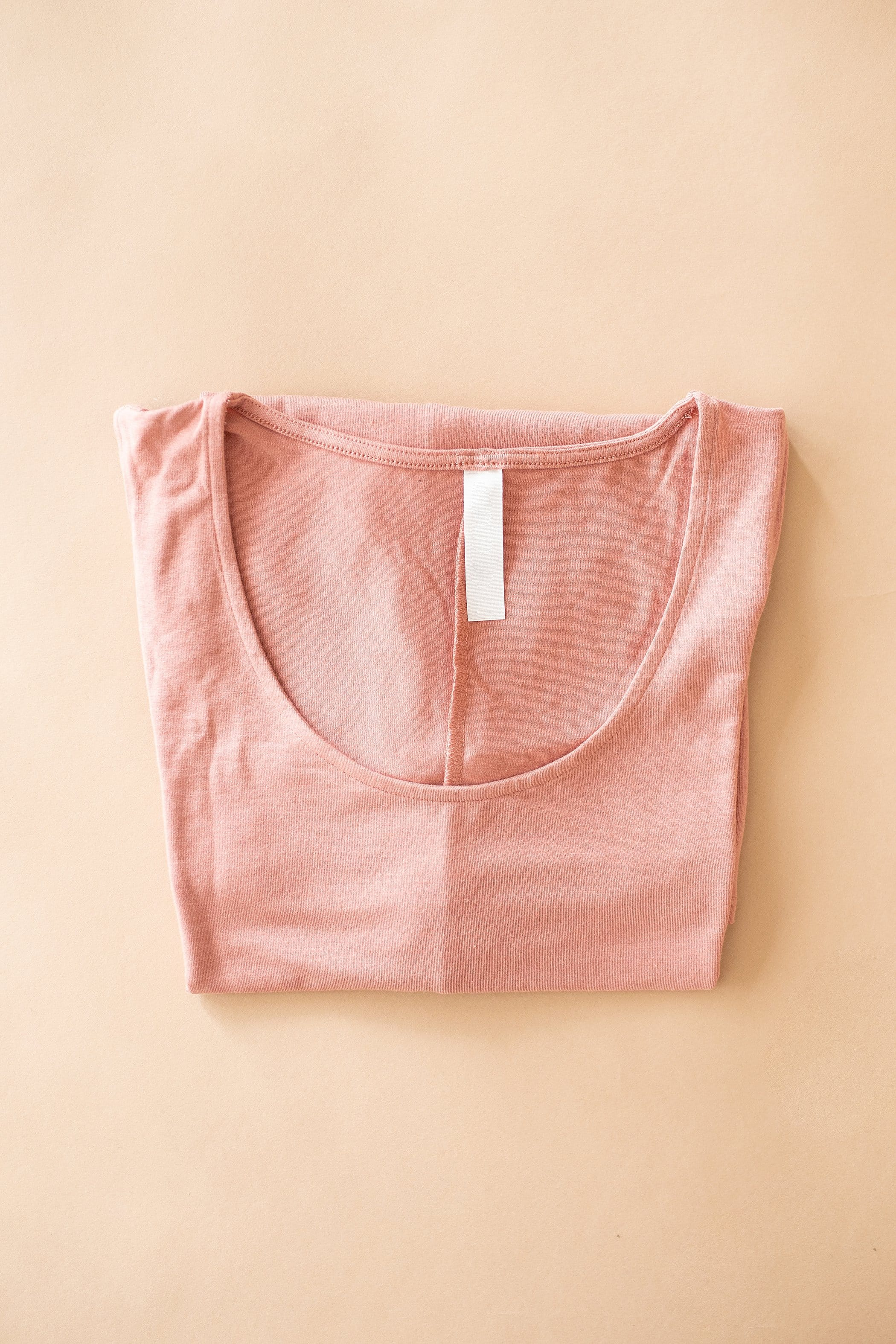 The Rivier Tank Top in Rose and Titanium