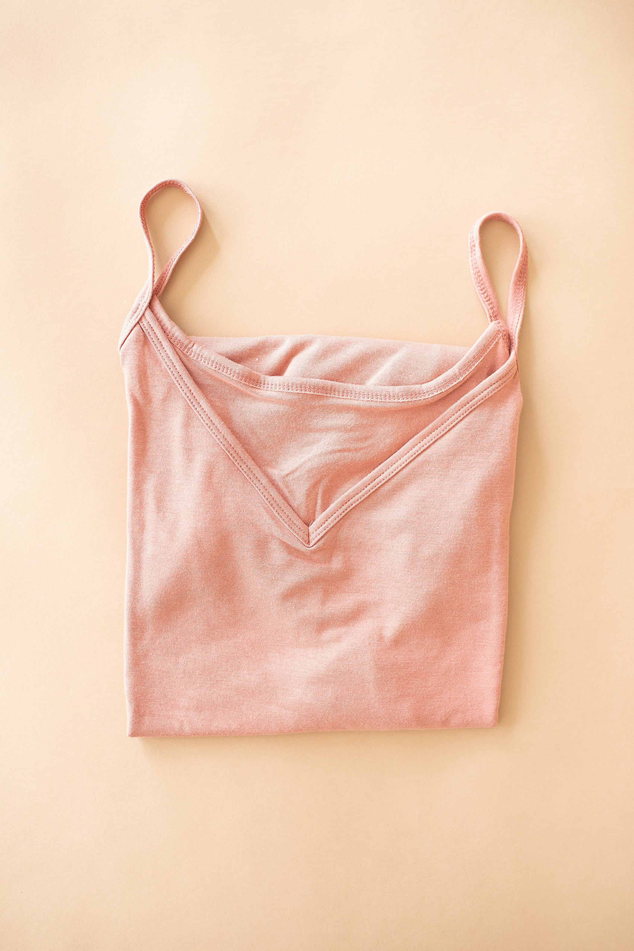 The Solana Reversible Neckline Cami in Charcoal, Light Green, Rose and White