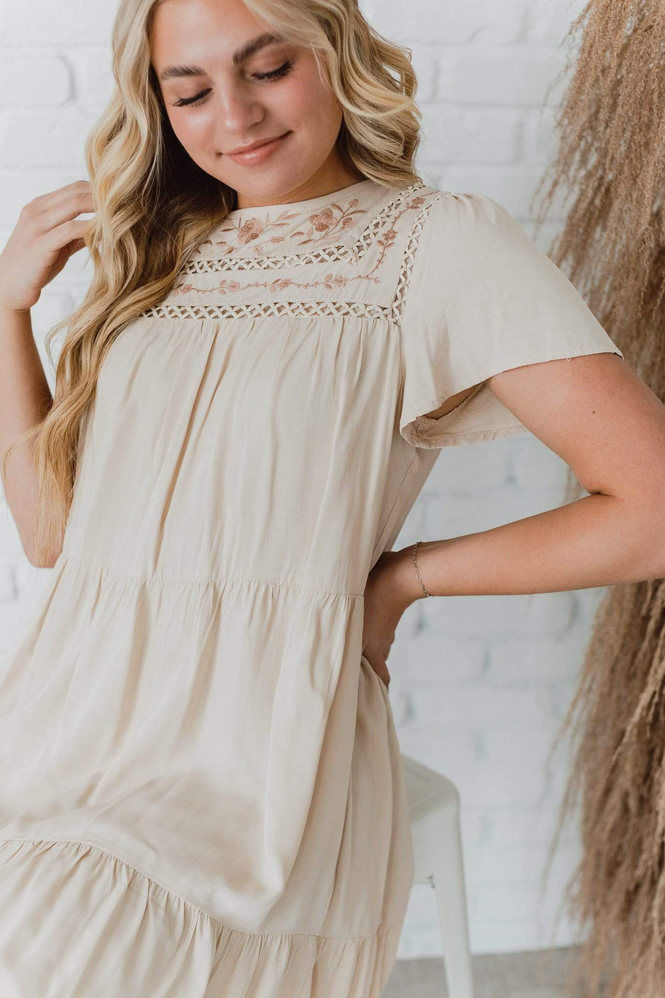 The Sweetwater Embroidered Dress