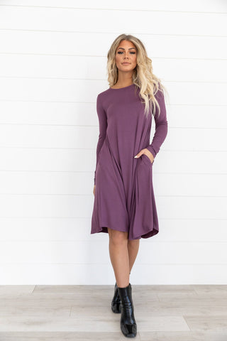 The Winter Sweater Dress in Camel