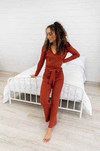 The Ashby Knit Loungewear Set
