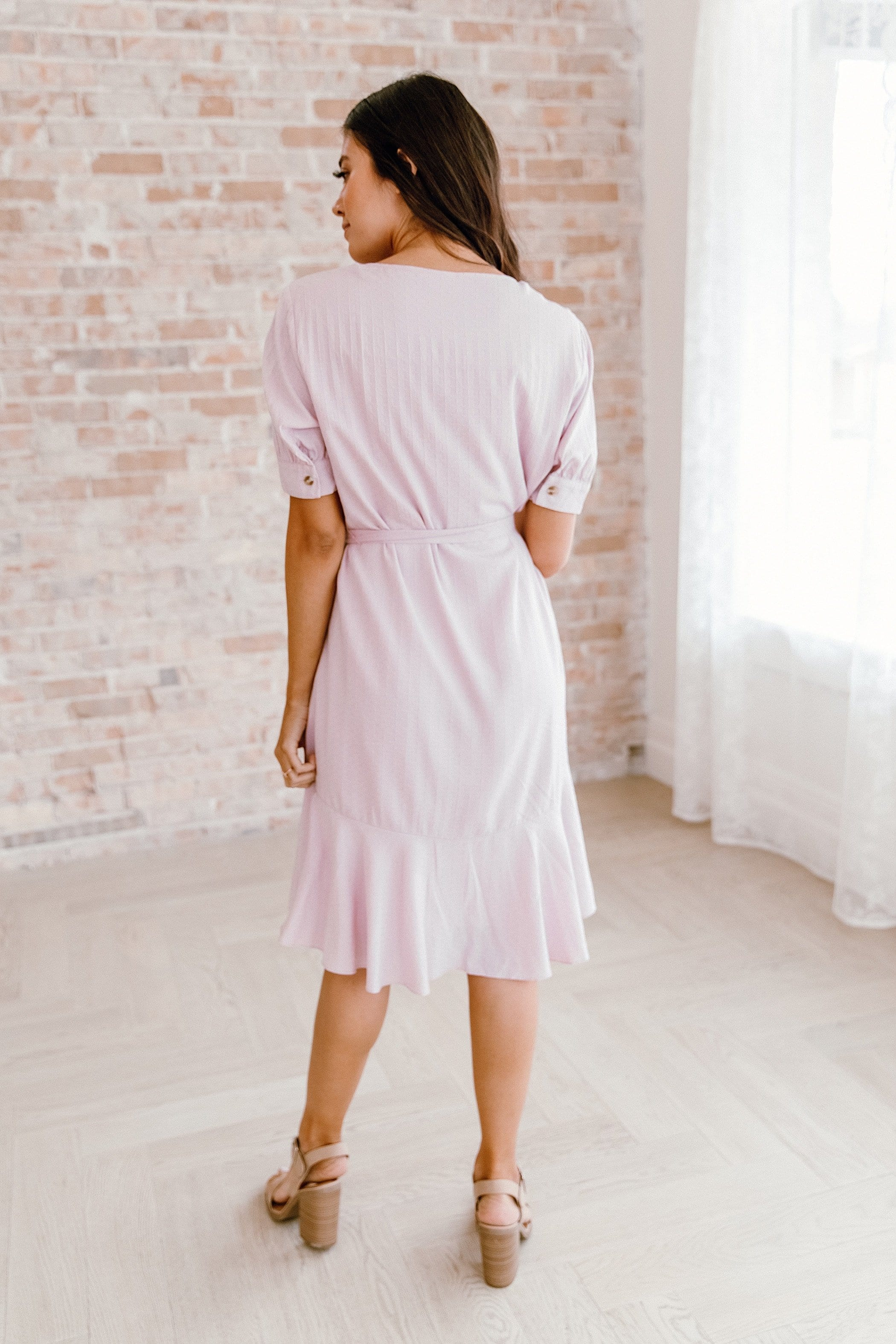The Diana Dress in Blush
