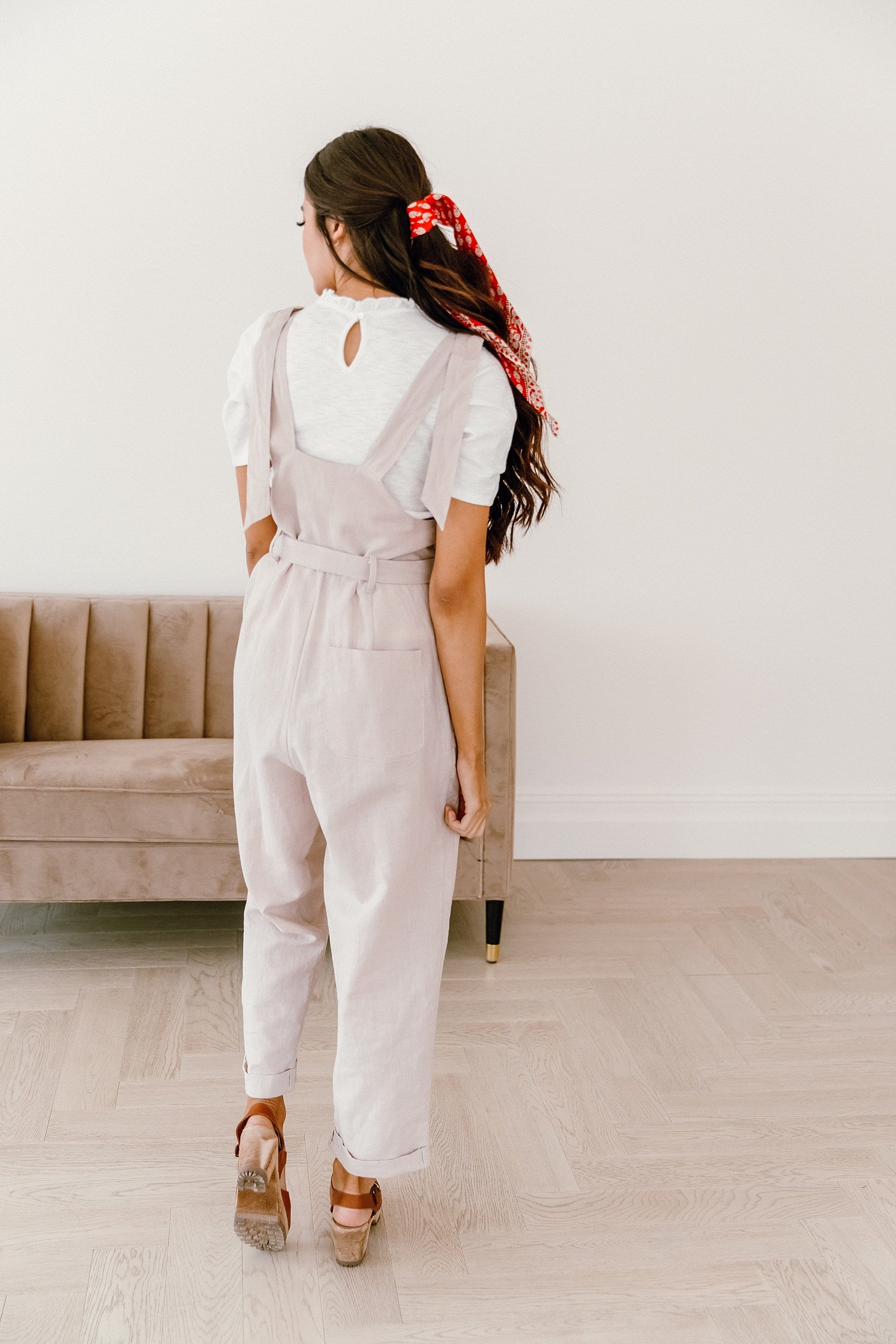 The Kaida Overalls in Khaki