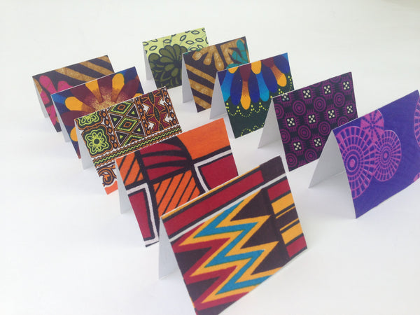 Mini Handmade Greeting Cards (Set of 10)
