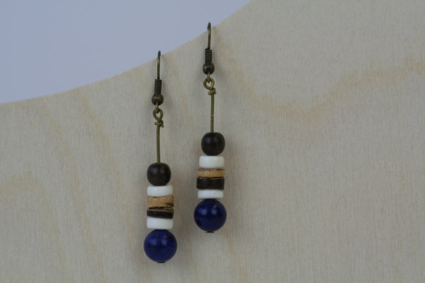 Tribal Stick Stacked Earrings