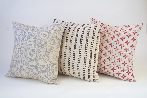 "Screen Print Pillows (18"" x 18"") - Cover Only"