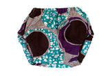 Aqua Purple Circles / 3M-6M