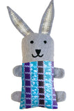 Aqua Purple Stripes / Bunny