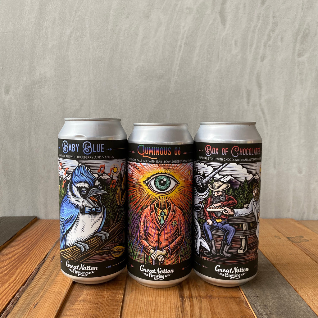 GREAT NOTION / 3本セット(缶)