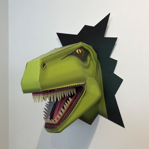 Create a Terrible T Rex head kit by Clockwork Soldier