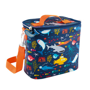 Floss & Rock lunchbox bag in deep sea design