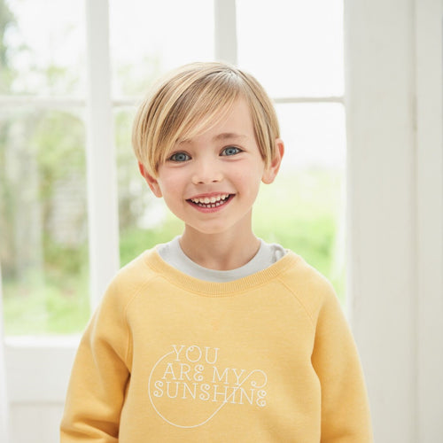 Bob & Blossom Faded Sunshine Sweatshirt