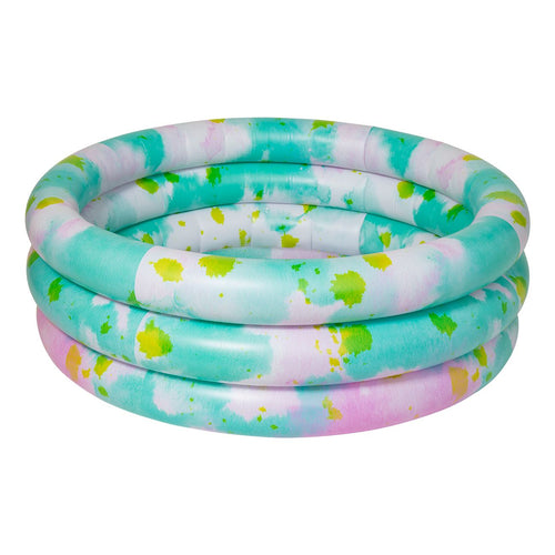 sunnylife inflatable tie dye backyard pool
