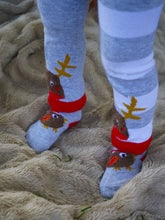 Load image into Gallery viewer, Blade & Rose Fluffy Robin Socks