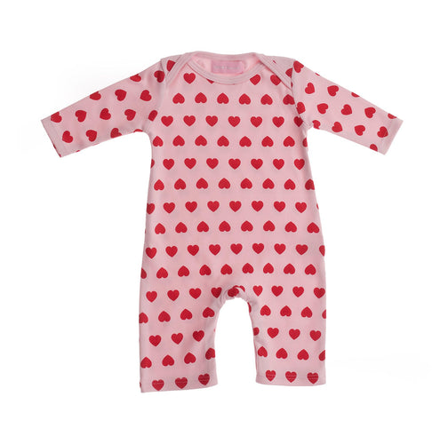 Bob & Blossom Heart Print All in One