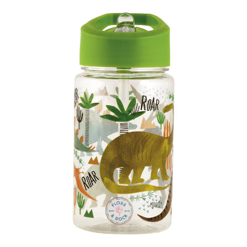 floss and rock dino bottle