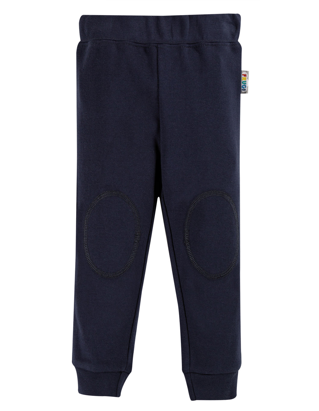 frugi navy cuffed legging