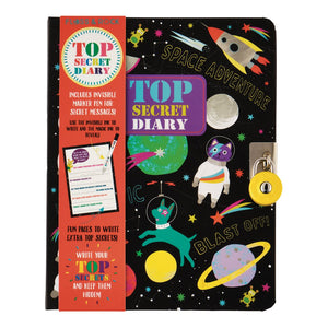 Floss & Rock Outer Space Lockable Secret Diary
