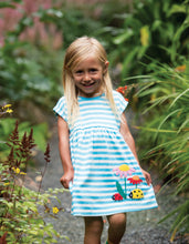Load image into Gallery viewer, frugi fliss applique dress