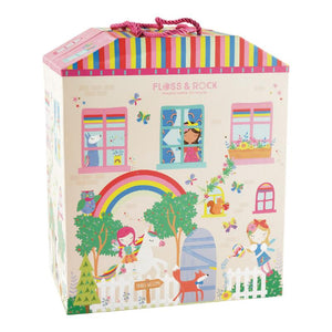floss and rock rainbow fairy playhouse