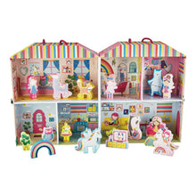 Load image into Gallery viewer, floss and rock rainbow fairy playhouse