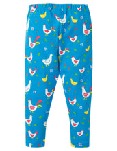 Load image into Gallery viewer, frugi chicken print leggings