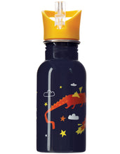 Load image into Gallery viewer, frugi steel dragon print bottle