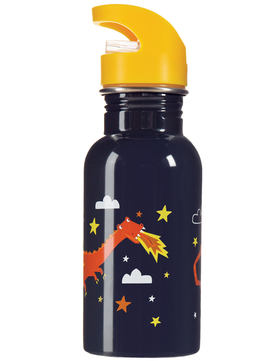 frugi steel dragon print bottle