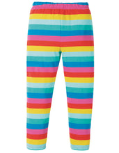 Load image into Gallery viewer, frugi flamingo rainbow leggings