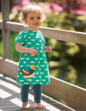 Load image into Gallery viewer, frugi girls' mandarin duck outfit