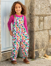 Load image into Gallery viewer, frugi lost words cord dungarees