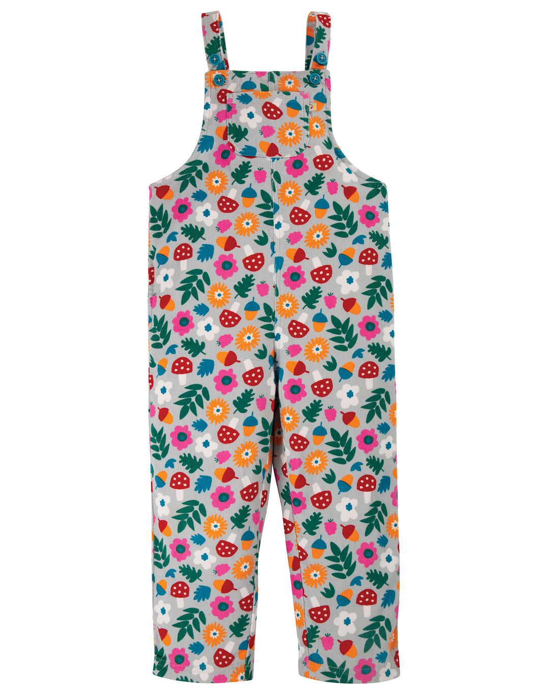 frugi lost words cord dungarees