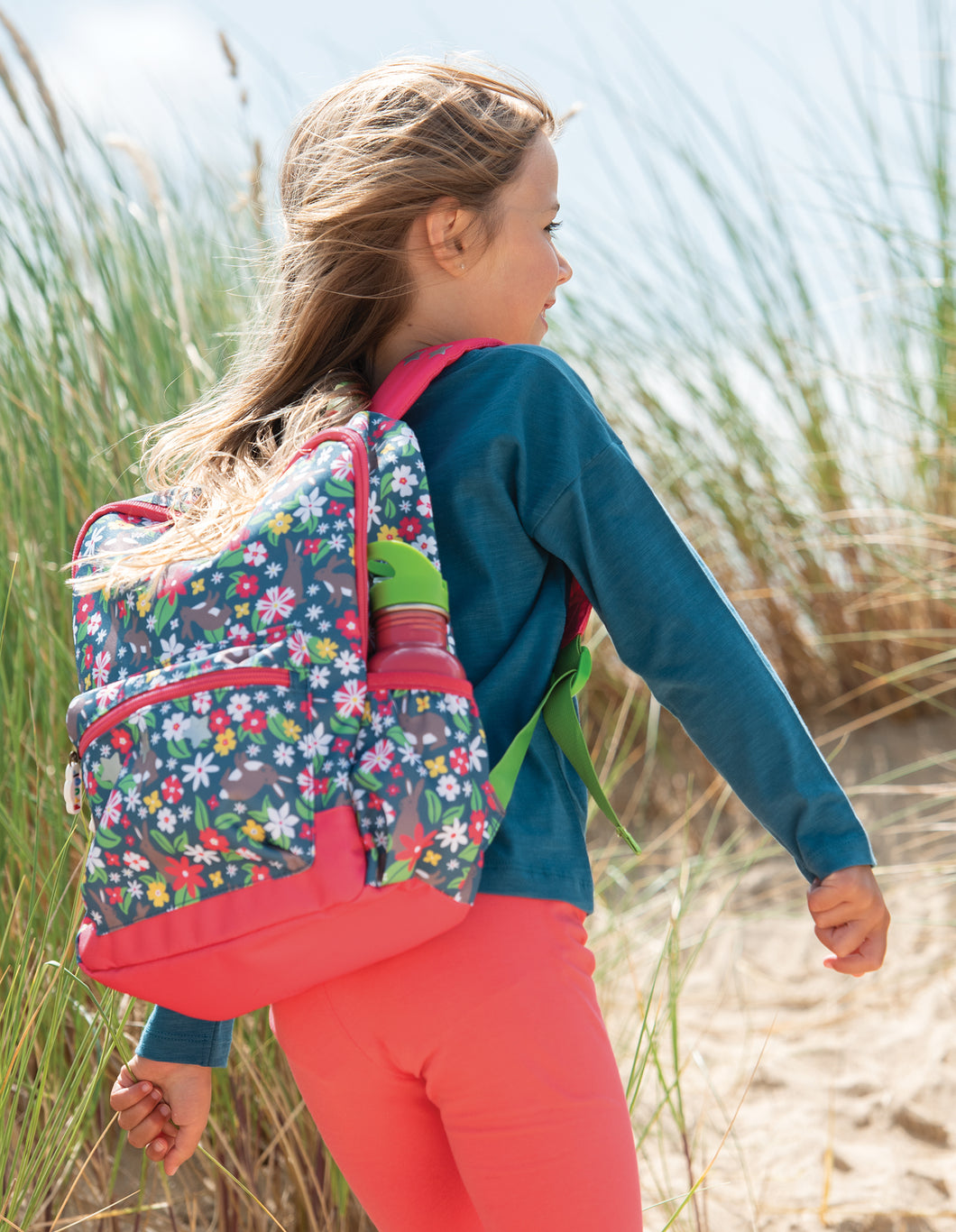 Frugi Rabbit Fields Backpack