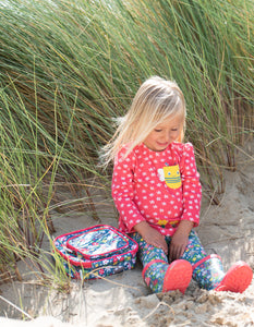 Frugi Rabbit Fields Lunch Bag