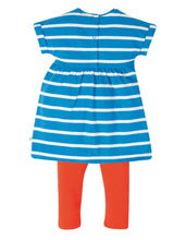 Load image into Gallery viewer, Frugi Girls' Sealife Outfit