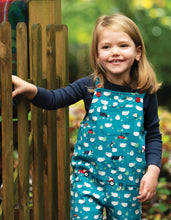 Load image into Gallery viewer, frugi sheepdogs parsnip dungarees