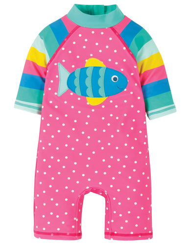 Frugi Girls' Sunsafe Swimsuit