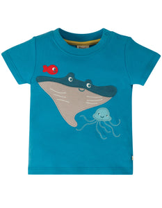 Frugi Mantaray T Shirt