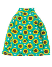 Load image into Gallery viewer, frugi aqua sunflower snuggle fleece