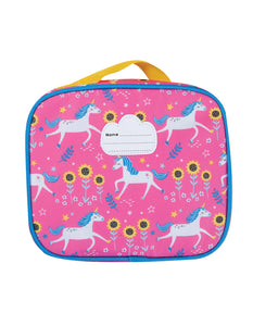Frugi Pink Unicorn Print Lunch Bag