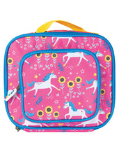 Load image into Gallery viewer, Frugi Pink Unicorn Print Lunch Bag