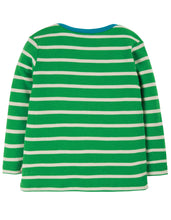 Load image into Gallery viewer, frugi breton truck applique top