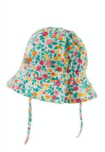 Load image into Gallery viewer, frugi chambray reversible sun hat