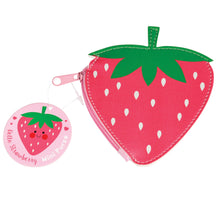 Load image into Gallery viewer, Hello Strawberry Coin Purse