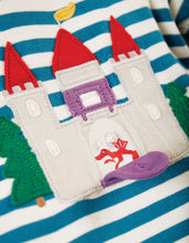 Load image into Gallery viewer, frugi ira interactive castle applique top