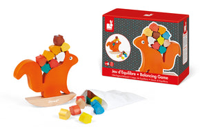 Janod wooden nutty squirrel balance game